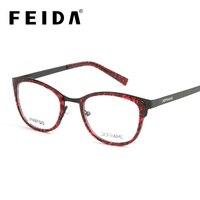 Fashion Optical Women's Frame Degree Eyeglass Clear Glass Women Brand Transparent Eyeglasses Women Ultra light Eye Glasses Frame