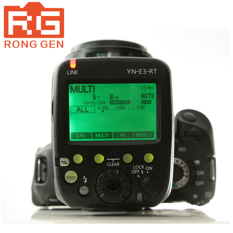 YONGNUO YN-E3-RT TTL Radio Trigger Speedlite Transmitter as ST-E3-RT Compatible with YONGNUO YN600EX-RT yn e3 rt ttl radio trigger speedlite transmitter as st e3 rt for canon 600ex rt new arrival