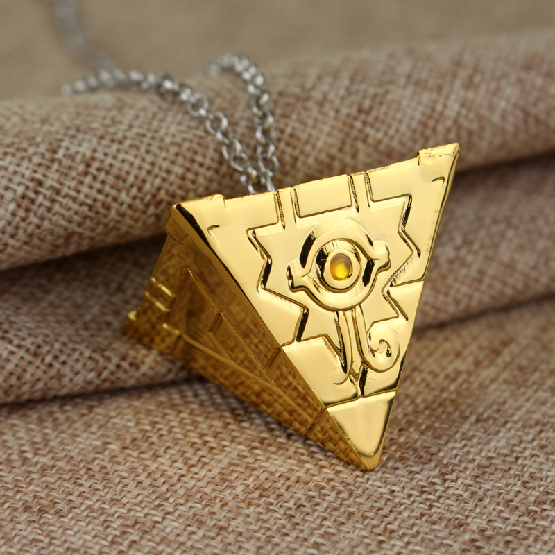 14 stil 3D Yugioh halskjede Yu-Gi-Oh gullfarge Anime Millenium anheng - Mote smykker - Bilde 2