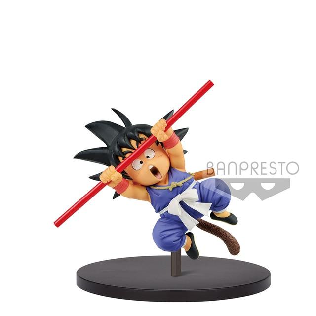 Tronzo 20cm Original Banpresto Action Figure Dragon Ball Fes 09 Child Goku PVC Figure Model Toys Young Goku Figurine Jouets Gift