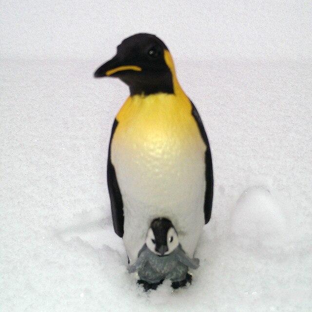 8d75388ea0 Modello Biologico marino Bambola Pinguino Imperatore Madre e Bambino  Modello Giocattoli Scuola Materna Sussidi Didattici Scherza