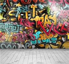 VIDA CAIXA MÁGICA Amante Estúdio de Fotografia Pisos De Vinilo Rua Graffiti Parede Decoração Fundo Cenários de Fotografia