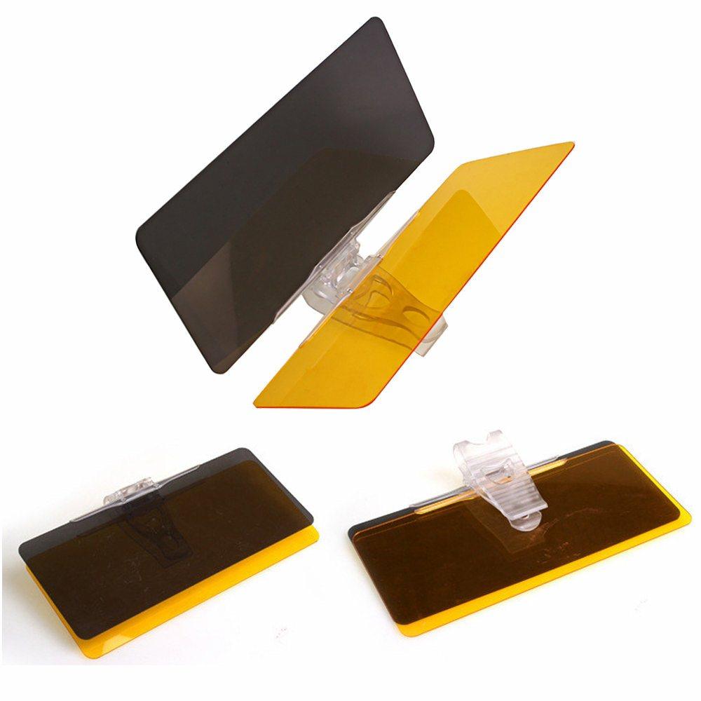 2016 Hot Sale Practical 2 In1 PVC Visor Goggles font b Car b font Protective Parasol