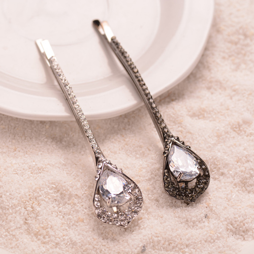 Crystal Stone Hairclip Rhinestone MIx Color Hairpin Jewelry Ladies Hair Accessories