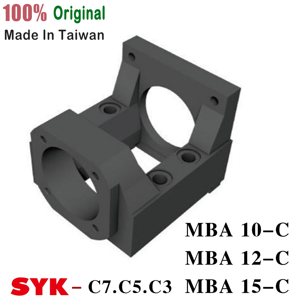 Motor Bracket MBA type ( MBA10 MBA12 MBA15 ) MBA15-C Black for NEMA23 and FK10 FK12 FK 15 image