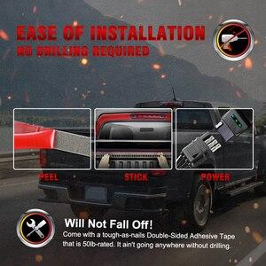 """Image 4 - Okeen 新 60 """"トリプル行 5 機能トラックテールゲート led ストリップライトバー逆ブレーキターンシグナルライトジープピックアップ suv ダッジ"""