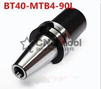 Nouveau 1 pièces BT40-MTB4-90L vtt morse porte-cône  BT40-MTB4 pour fraise conique Morse  tige d'outil de moulin Morse