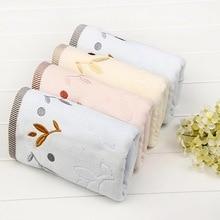 Высококачественное полотенце из чистого хлопка с вышивкой, 35*75 см, полотенце для лица, махровое полотенце для рук, 2 стороны