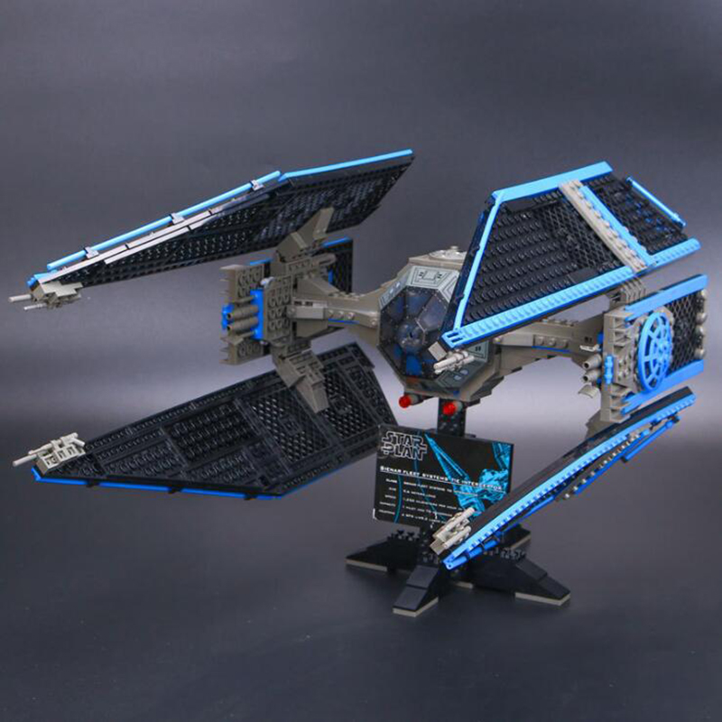 Compatible Legoinglys Star Wars Series 7181 Limited Edition The TIE Interceptor Building Blocks Bricks Toys For Children Gift