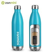 Zanmini термос бутылка, из нержавеющей стали Вакуумная Изолированная бутылка воды герметичная Двойная Стенка в форме колы бутылка