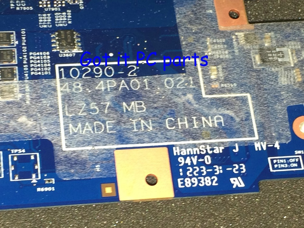 STOCK. WORKING Laptop <font><b>motherboard</b></font> 48.4PA01.021 LZ57 MB for <font><b>Lenovo</b></font> <font><b>B570E</b></font> V570C NOTEBOOK VIDEO CHIP N12M-GS-B-A1(qualified ok) image