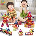 46pcs/109pcs Magnetic building blocks Construction Model DIY 3D Magnetic Designer Learning & Educational Toys