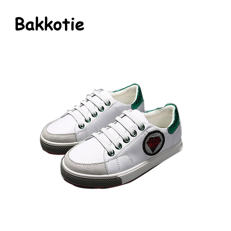 Bakkotie 2017 New Children Spring Autumn Baby Boy Casual Shoes Genuine Leather Leisure Sneaker Kid Brand Breathable Girl Shoe new babyfeet toddler infant first walkers baby boy girl shoe soft sole sneaker newborn prewalker shoes summer genuine leather