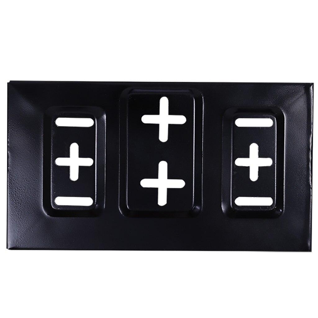 Noir Voiture Batterie Plateau Réglable Maintient Pince Support Kit Universel