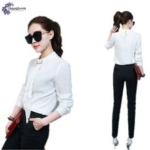 TNLNZHYN New Fashion Suit Female Large Size Temperament Spring Slim Chiffon Shirt Long Sleeve Clothes Pants Two Sets Suit TT147