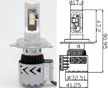 Новый h4 светодиодные фары G8 12000lm H7 Привет Lo Ксеноновые Белый 9005 9006 72 Вт Автомобилей СВЕТОДИОДНЫЕ Фары Conversion Kit XHP-50 12000lm светодиодный лампы