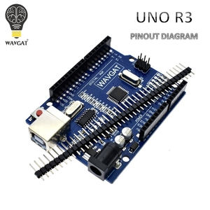 WAVGAT high quality UNO R3 MEGA328P CH340G for Arduino Compatible NO USB CABLE MEGA 2560.(China)
