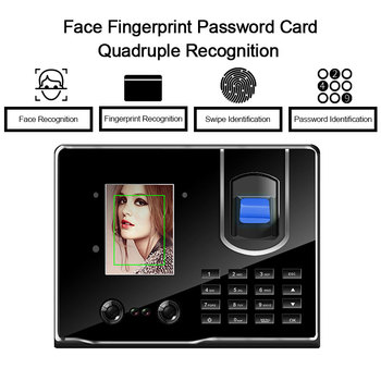 цена на Eseye Attendance System Fingerprint Time Attendance Facial Recognition Figerprint Reader Access Control For Office Company