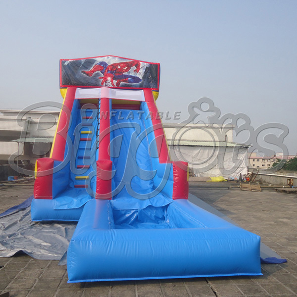 Inflatable Water Slides For Sale: High Quality Inflatable Water Slide Pool Inflatable Slide