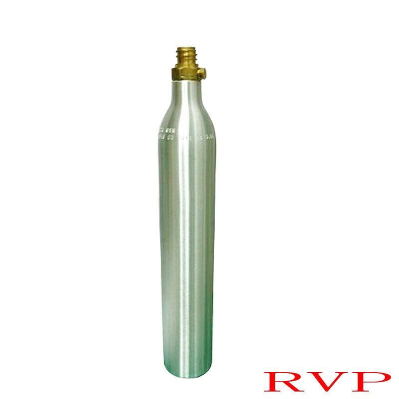0.6L Soda Water Cylinder 150BAR/2250PSI High Pressure Soda Water Tank Wtih Valve