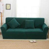 Knitting Sofa Cover Sofa Slipcover Single/Two/Three/Four Seater Stretch Scenic Funda Sofa Couch Cover Capa De Sofa Decoration