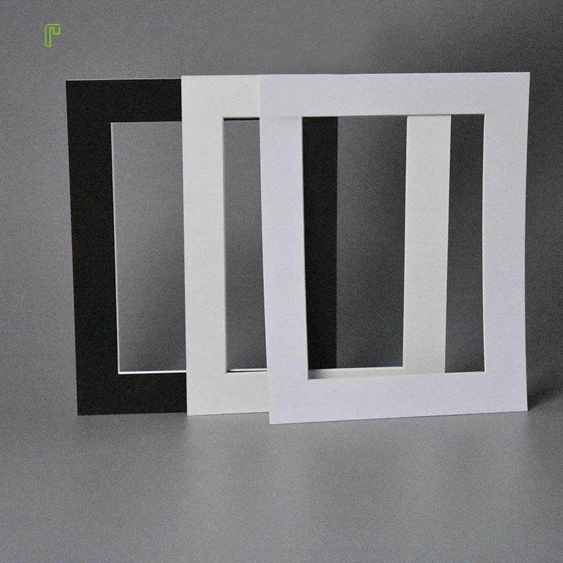 Ht 45 Degree Bevel Cut Acid Free Photo Mats For 4x6 Inch