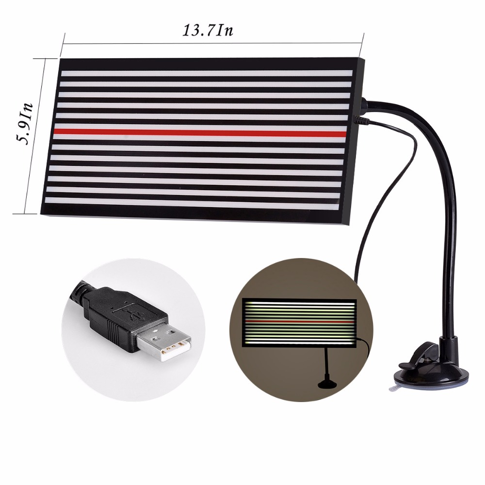PDR Dent Reflector LED Lamp Line Board Light Dent Repair Tools Dent Detector use for Remove Car Body Dent