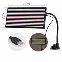 Pdr led placa de linha luz refletor dent lâmpada ferramentas reparação dent detector para o corpo do carro dent remover