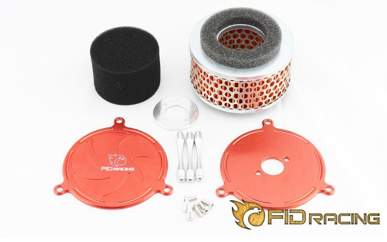 Fid Air Filter FOR LOSI 5IVE-T free shipping rc car fid rear axle c block for losi 5ive t mini wrc