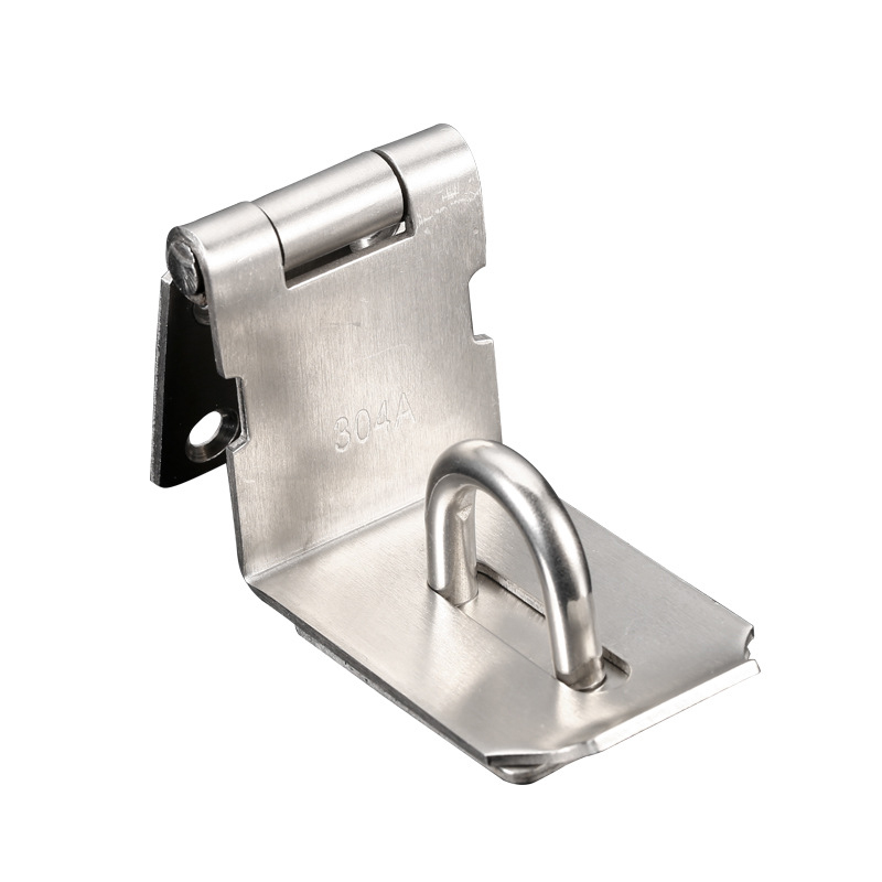 Stainless Steel Hasp Staple Gate Door Shed Latch Lock For Padlock _Wk