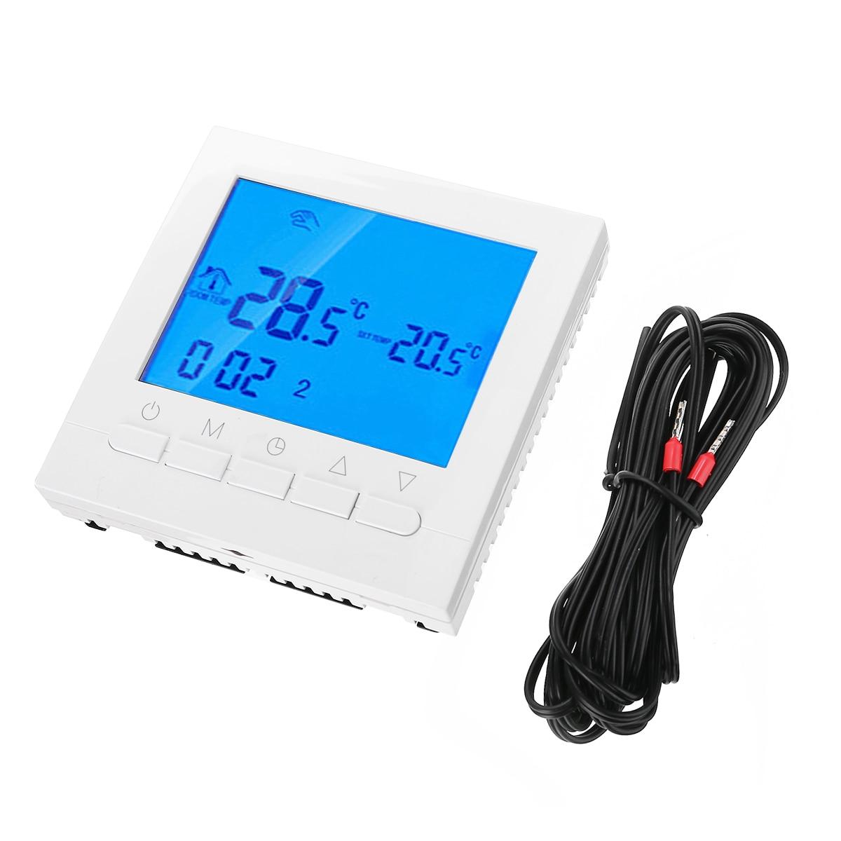 Wifi Smart Digital Thermostat Programmable Wireless LCD App Control AF Digital Thermostat Heating Temperature Regulator