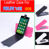 For PHILIPS i908 Case, New High Quality Genuine Filp Leather Cover Case For PHILIPS i 908 Case In Stock