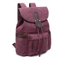 S P L Brand Casual High Quality Men Bags String Canvas Backpack Bags For Men Big