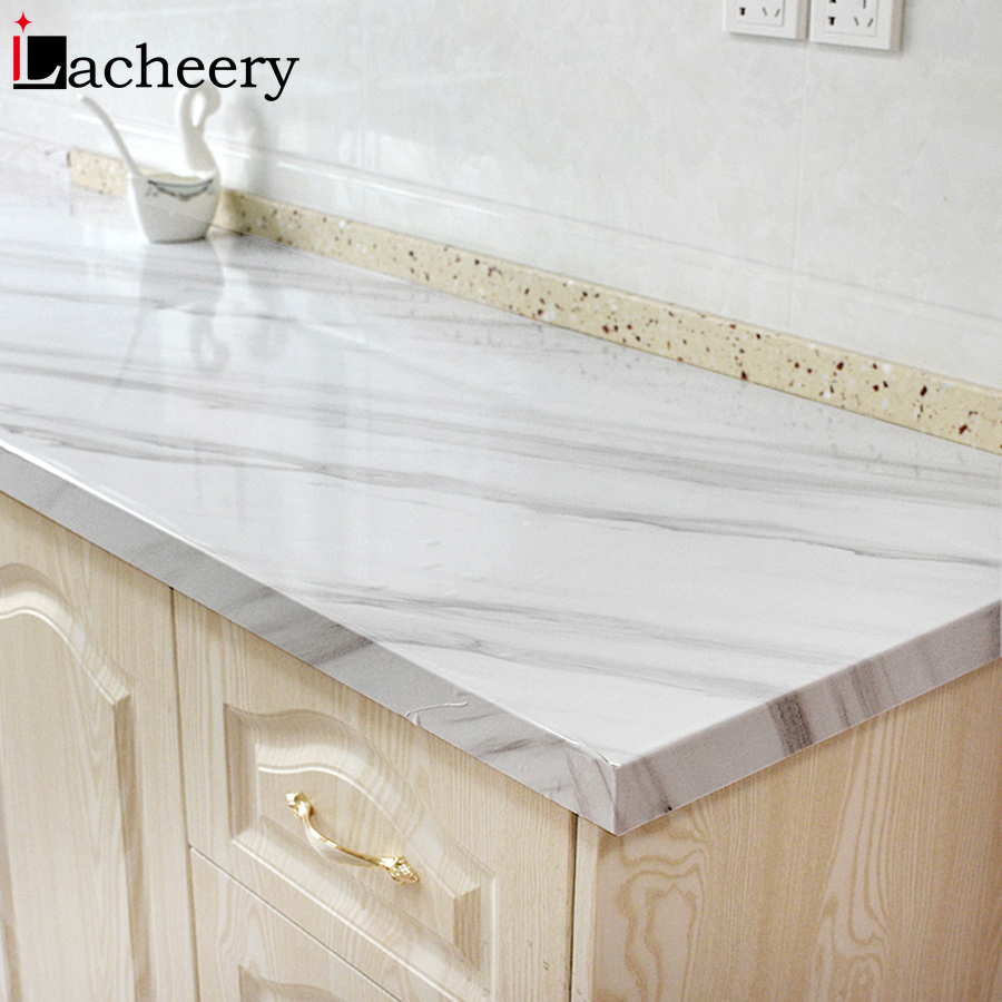 New Solid Color Self Adhesive Vinyl Wallpaper Living Room Kitchen Cabinet Furniture Stickers PVC Waterproof Marble Contact Paper 3