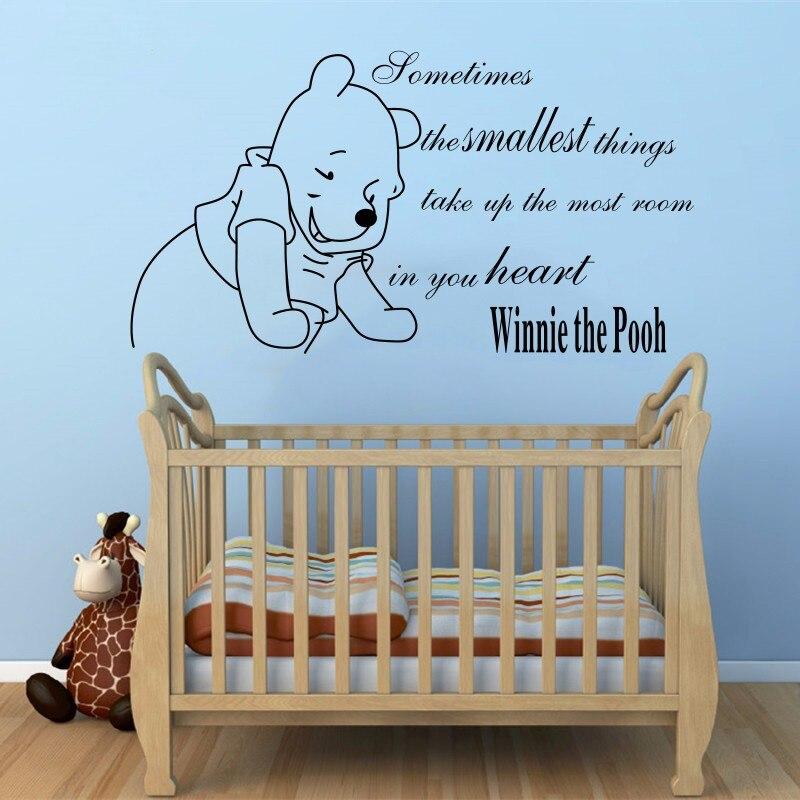 Winnie De Pooh Baby Muurstickers woondecoratie Meisjes Jongens ...