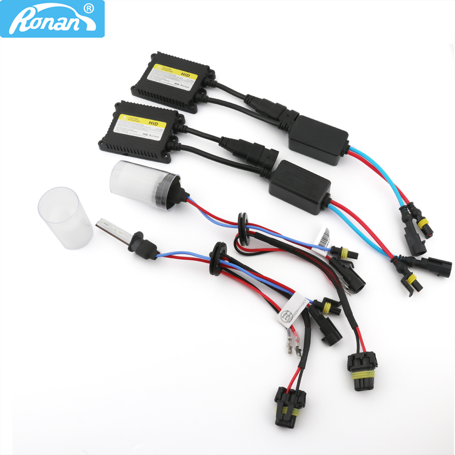 ronan xenon hid kit de conversao lastro ac 35w lampadas d2h h1 h7 h11 para lente