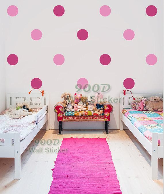 encantadora de lunares etiqueta de la pared diy decoracin del hogar arte de la pared
