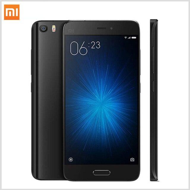 Оригинал Xiaomi Mi5 Prime 3 ГБ RAM 64 ГБ ROM смартфон Mi 5 Snapdragon 820 3000 мАч Dual Sim-карта 4 К Видео Мобильных телефоны