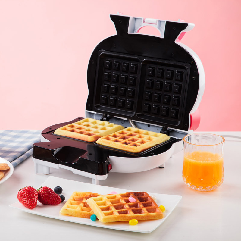 Hello Kitty Shape Waffle Maker 220V EU/AU/UK Non-stick Household Electric Waffle Cake Machine DIY Breakfast For Children GiftsHello Kitty Shape Waffle Maker 220V EU/AU/UK Non-stick Household Electric Waffle Cake Machine DIY Breakfast For Children Gifts