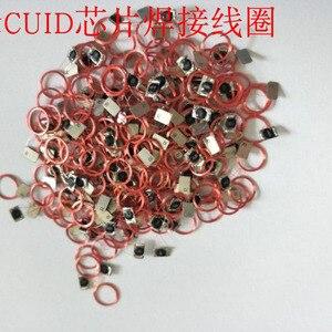 Image 5 - IC لفائف لحام التسمية CUID رقاقة إعادة الكتابة نسخة تتفاعل عالية التردد 13.56 ميجا هرتز حجم القطر 9 مللي متر COB وهوائيات 10 قطعة/الوحدة