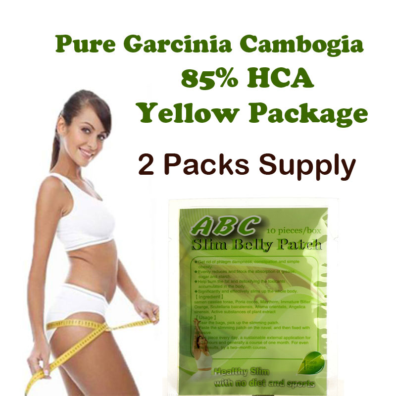 (FiiYoo) Pure Garcinia cambogia extracts 85% HCA weight loss diet supplement 2 Packs supply burn fat quicky 3 bottles 180 units pure garcinia cambogia extracts diet patch weight loss pad 95% hca 100% effective for slimming