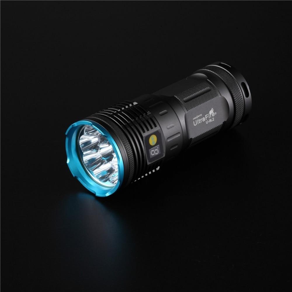 купить flashlight 18650 Cree XM-L2 8100 Lumens 4 Modes 18650 LED Flashlight Torch led flashlight linterna led LED antorcha онлайн