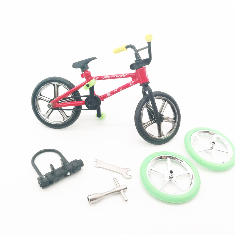 1 Set Mini Finger Bicycle Tech-Deck Flick Trix Finger Bikes Toys BMX Model Bike Toys For Kids