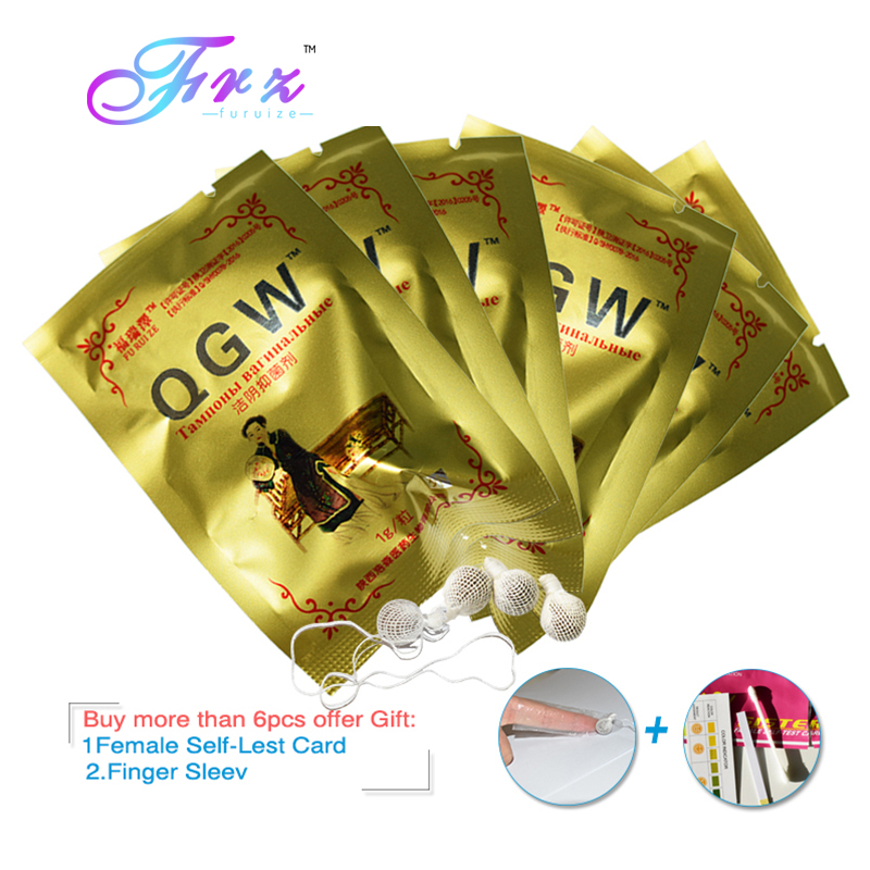 Hisopo Vaginal tampones hermosa vida chino medicina de toxinas ginecología almohadillas dorado paquete Vagina tampones