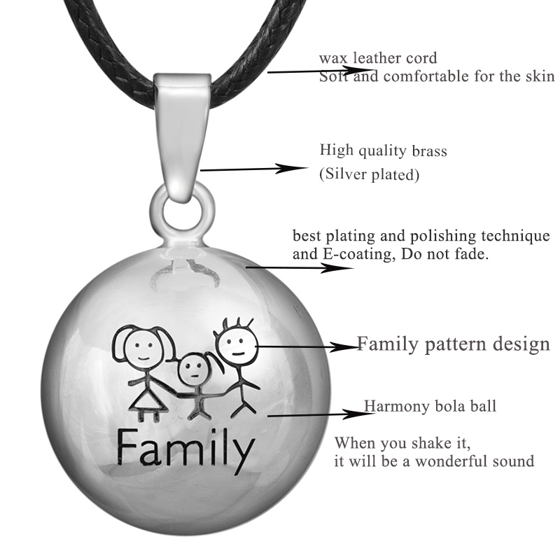 Trgovina na malo Eudora Trudnoća Ball Jewelry poklon Zvono Ball - Modni nakit - Foto 2