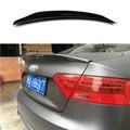 Спойлер заднего багажника из углеродного волокна  крыла Подходит для Audi A5 4 дверей седан 2010-2015