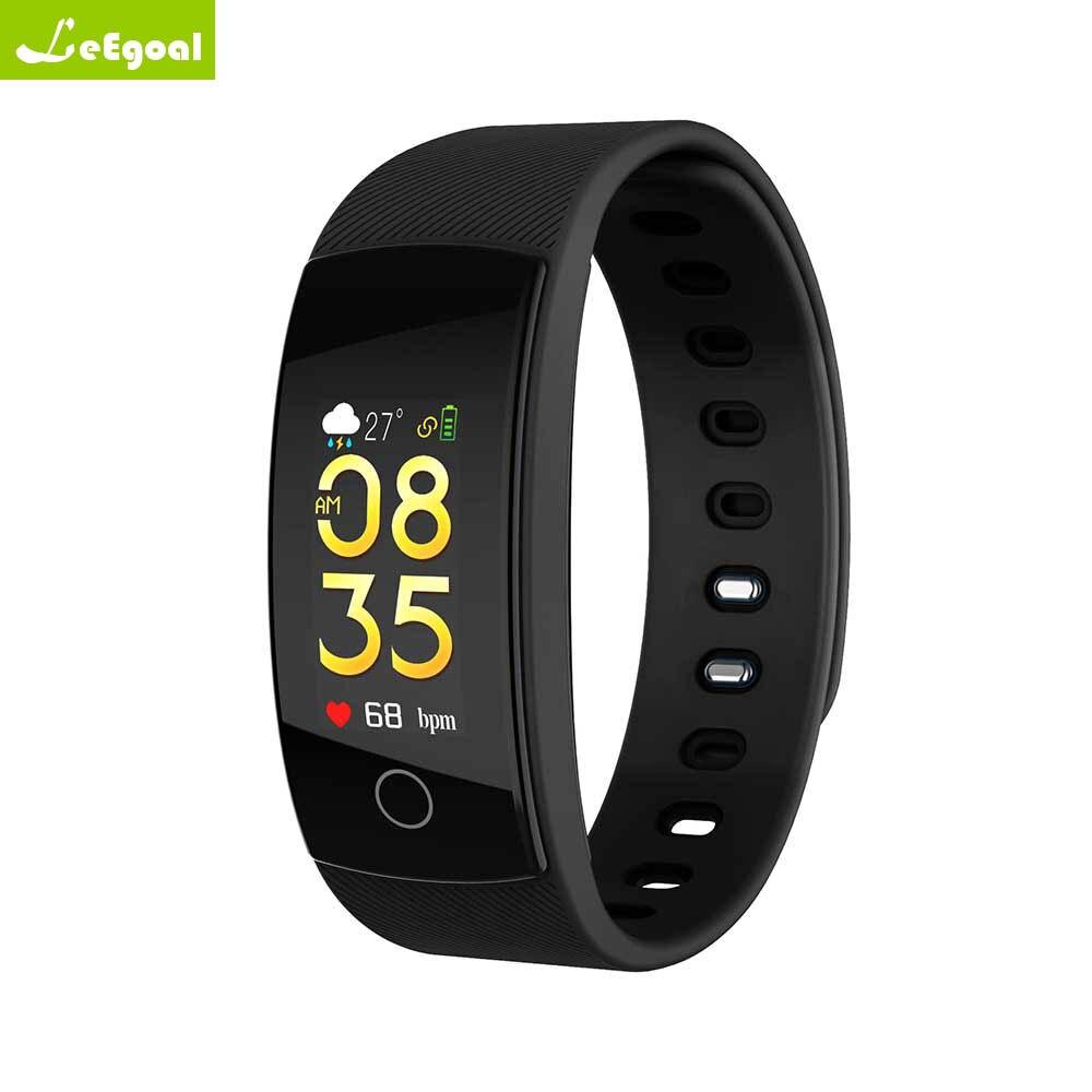 QS80plus Farbe Smart Armband Blutdruck Herz Rate Monitor Fitness Tracker Wasserdicht Smart Armband Band Für Android ios