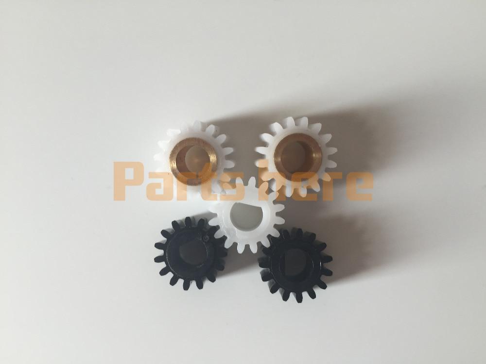 B039-3062 B039-3060 B039-3245 Developer Gear Kit Set for Ricoh for Aficio 1015 1018 2015 2018 3025 3030 MP1600 MP2510 MP3010