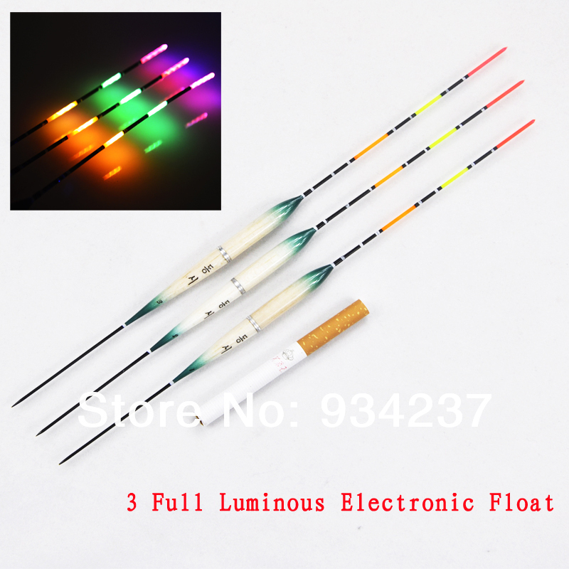 Easy Tim Three Full Luminous Electronic Floats Fishing ...