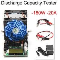 4 шт./компл. 200 в 20A 180 Вт регулируемый постоянный ток электронная нагрузка батарея разрядки Емкость тестер метр свинцово-кислота, литий